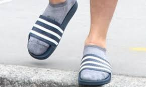 When I've got my socks and slippers on, please don't talk to me.